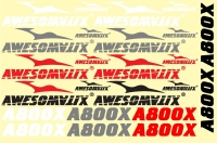 STS - A800X Stickers Sheet  ― AWESOMATIX